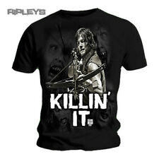 Official T Shirt THE WALKING DEAD Daryl KILLIN IT Zombies All Sizes