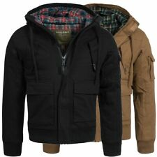 Young & Rich Winterjacke gefütterte Winter Jacke Parka Mantel S M L XL XXL 4003