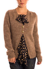 Cardigan Maglione Manila Grace SWEATER MADE ITALY -60% Donna H3MM06417-MG808