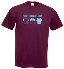 West Ham Premier Colores FC Fútbol Club camiseta - Todas Las Tallas Disponibles