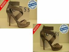 SCARPE SANDALI DONNA GUESS ORIGINALE FL2SBNSAT07 35 36 37 38 39 40 TESSUTO SHOES