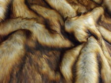 Super Luxury Faux Fur Fabric Material - LONG PILE REYNARD FOX