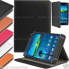 """Universal PU Leather Folio Stand Case Cover For 7"""" 7 Inch Tab Android Tablet PC"""