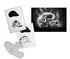 Step by Step Airbrush Schablone AS-111 ~ Tattoo Stencil ~ UMR-Design