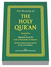 "Livre Coran EN ANGLAIS ""The Holy Quran"" Traduction Coran en Anglais"