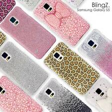 Strass Diamant Bling Bling Handy Schutz Case Cover Hülle Etui Samsung Galaxy S5