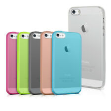 kwmobile TPU SILIKON CRYSTAL CASE FÜR APPLE IPHONE SE 5 5S HÜLLE KLAR HANDY