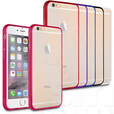 GEL RIM CASE WITH FRONT/REAR SCREEN COVER FOR APPLE iPHONE 6 / 6S PLUS 6S 6 5S 5