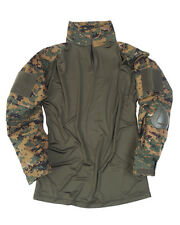 "Tactical Hemd ""Warrior"" digital woodland, tarn Shirt, SWAT, Paintball     -NEU-"