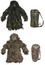 GHILLIE Paintball Tarnung Army BW Anzug Suit Tarnanzug ghillies woodland desert