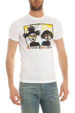 T-SHIRT Dsquared2 T-SHIRT Sweatshirt -10% Uomo  Bianco S74GC0978S22427-100