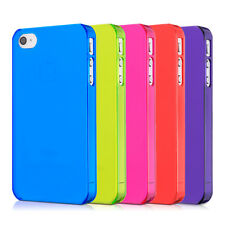 kwmobile CRYSTAL CASE FOR APPLE IPHONE 4 / 4S DESIRED COLOUR HARD COVER CASE