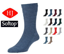 1 Pair Pack Hj Hall Hj90 Wool Rich Softop Wider Loose Top Non Elastic Socks