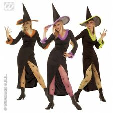 Ladies Womens Fancy Witch Costume Outfit for Halloween Fancy Dress