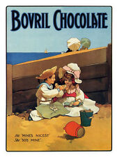 Bovril Chocolate Classic 1900s Poster Print New