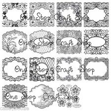 Creative Expressions - Stamps To Die For - Sue Wilson - New Collection Just Out