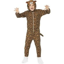 Girls Boys Tiger Zoo Animal Wild Feline Book Day Week Fancy Dress Costume Outfit