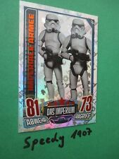 Topps Rebel Attax Star Wars Glitzer  Imperiale Trooper  Foil Card 182 Rainbow