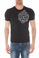 T-SHIRT Just Cavalli Sweatshirt -50% UOMO Nero S01GC0252-900