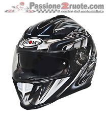 Casco Suomy Halo Zenith black grey moto Helmet casque integralhelm cascos helm