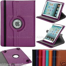 "Universal Folio 360° Rotate Case Cover For 7'' 8'' 9.7'' 10.1"" Android Tablet PC"