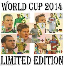 LIMITED EDITION Panini Adrenalyn World Cup 2014 cards