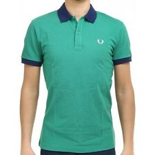 Polo T-shirt Maglia Uomo Men Fred Perry Made Italy slim fit special V0031