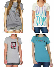 BURTON maglietta t-shirt donna ragazza Her Logo Vertical Pinner snow girl woman