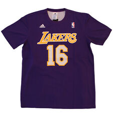 Adidas LOS ANGELES LAKERS REV gmtm CAMISETA BALONCESTO GASOL 16 Hombre LA NBA