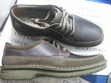 NIB Clarks Seeley PACE 02130Casual Leather OXFORD PREMIUM COMFORT LACE UP  Shoes