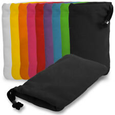 SOFT VELVET SLEEVE POUCH COVER CARRY CASE FOR NOKIA MOBILE PHONES ALL COLOURS