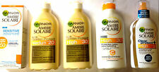 GARNIER AMBRE SOLAIRE PROTECTION LOTION / SPRAY BRAND NEW **CHOOSE TYPE**