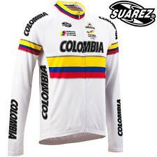 Suarez Colombia National Team White Cycling Jersey - CLEARANCE WAS £54.99