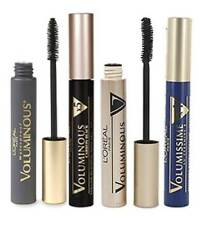 LOREAL VOLUMISSIME X4 / VOLUMINOUS EXTRA VOLUME X5 MASCARA  BLACK  * CHOOSE*