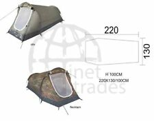 TUNNEL Tent camouflage 2 Person tent Two-man tent Tent Camping olive camouflage