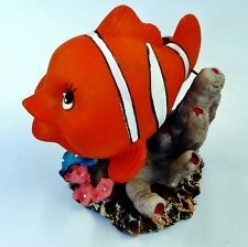 Clown Fish Ornament Air Action Aerating Moving Bubbles Nemo Fish Tank Decoration