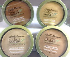SALLY HANSEN NATURAL BEAUTY LUMINOUS MATTE PRESSED POWDER *YOU CHOOSE COLOR*