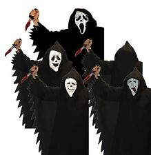 Scream Scary Movie Costume Outfit and Mask Halloween Fancy Dress