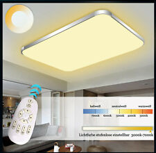 LED Lámpara de techo 6088 plata/oro Marco Color de luz/Brillo ajustable