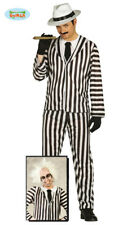 GUIRCA Costume Beetlejuice gangster crazy ghost carnevale uomo mod. 80693
