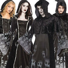 Forgotten Ghost Souls + White Make-Up Adults Kids Fancy Dress Halloween Costume