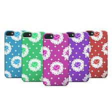 Colourful Decorative Roses Flowers Pattern Design Case for iPhone/Samsung
