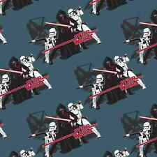 Star Wars The Force Awakens Imperial Sith Storm Trooper 100% Cotton Fabric M