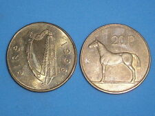 IRELAND 20 PENCE HORSE 1986-2000 ALL DATES ONLY 99p EACH WITH FREE UK P&P