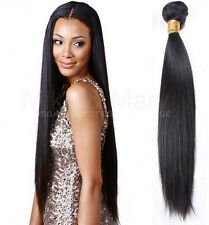 Indian Hair Extension Peruvian Human Virgin Remy Premium Silky Straight 100g/1pc