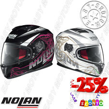 CASCO HELMET INTEGRALE NOLAN N86 BLOOM - 035 - 036 DA MOTO SCOOTER MAXI SCOOTER