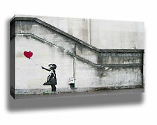 BANKSY THERE IS ALWAYS HOPE GRAFFITI STREET ART HIGH QUALITY CANVAS POSTER PRINT