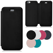 kwmobile FLIP COVER FOR APPLE IPHONE 6 6S LEATHER CASE SLIM BACK SHELL HARD