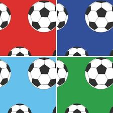 NEW BELGRAVIA MODA CHILDRENS FOOTBALL PATTERN GOAL BALL SOCCER SPORTS WALLPAPER