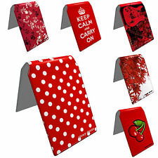 Stray Decor (Red Designs) Bus Pass/Credit/Travel/Oyster Card Holders